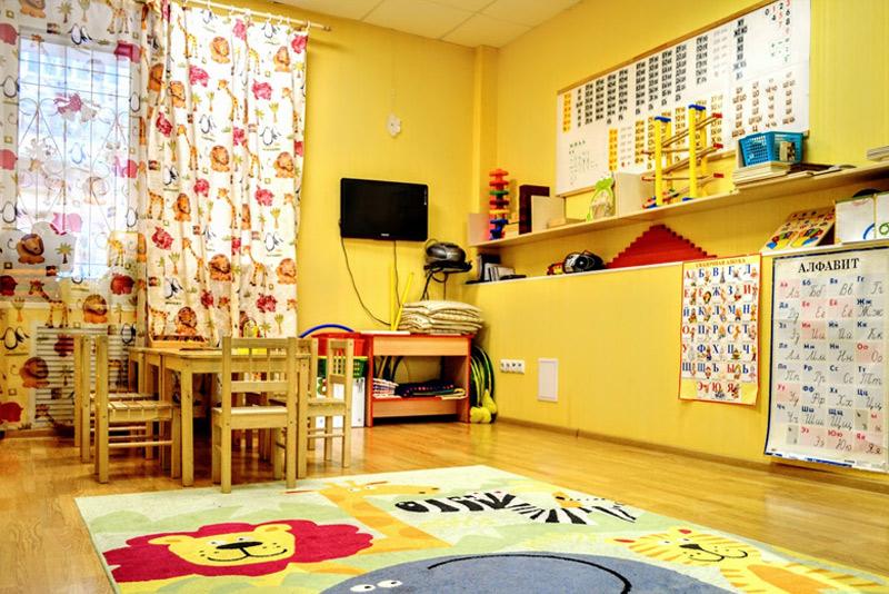 """Клуб """"Юла"""" - комната для занятий 2"""