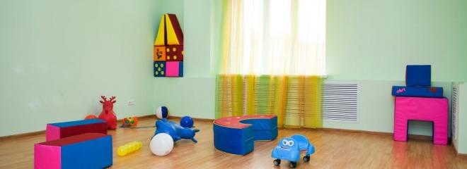 Ясли в Самаре: помещение для игр в яслях
