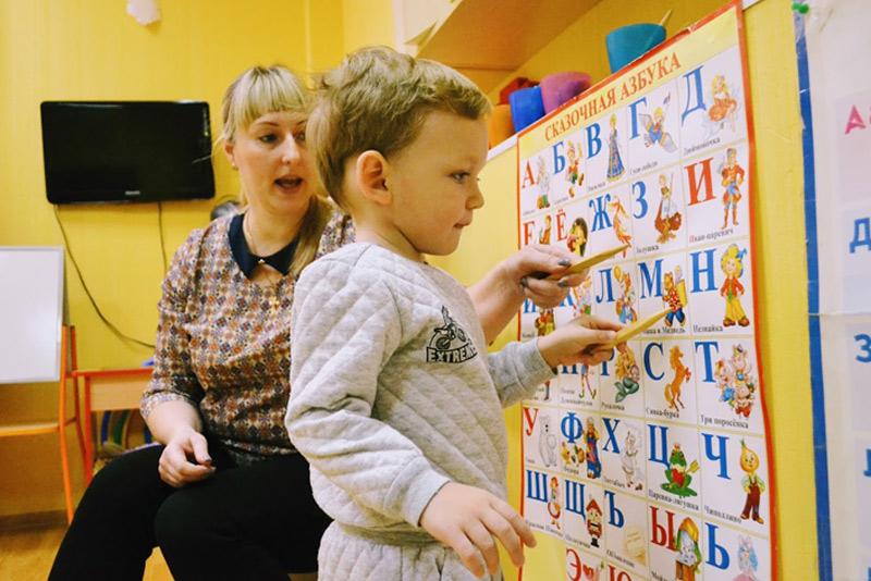 Занятия Развивайка - учим буквы