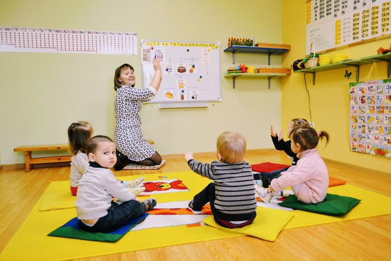 Развивайка - педагог Елена