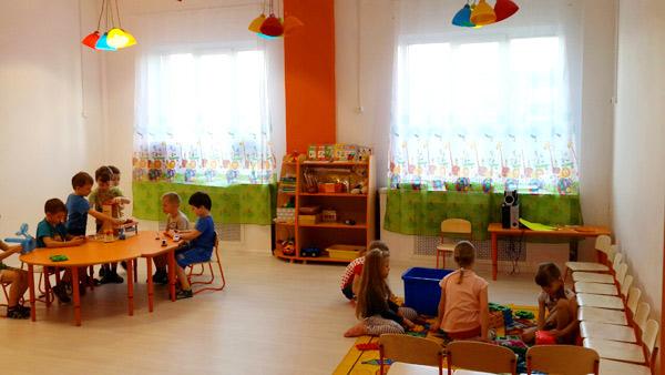 Новая группа в частном детском саду на Московском шоссе, 57