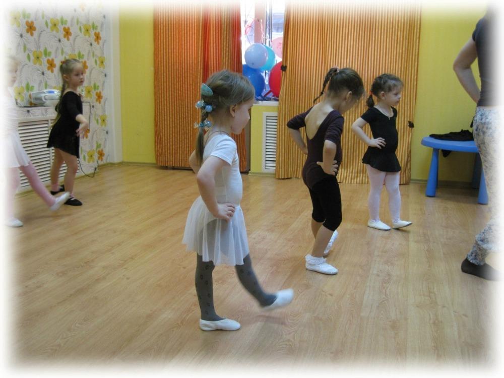 Хореография для детей в Самаре: дети учат базовые движения