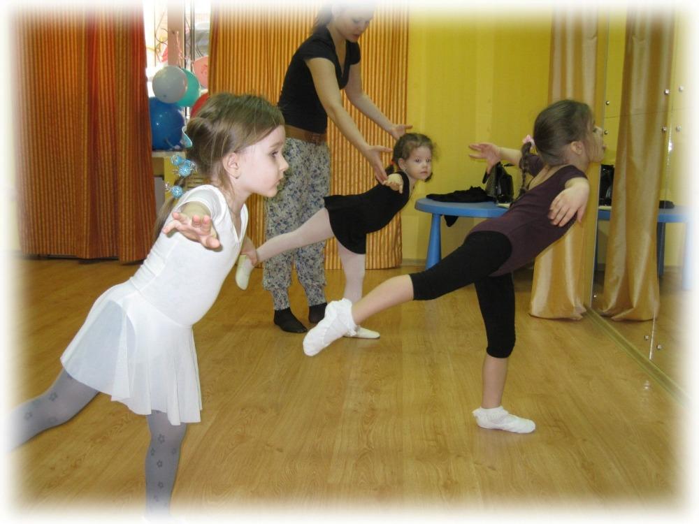 Детская хореография: дети учатся держать баланс